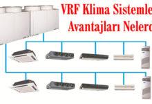 Heat Pump VRF Klima 2 Borulu Sistem Özellikleri